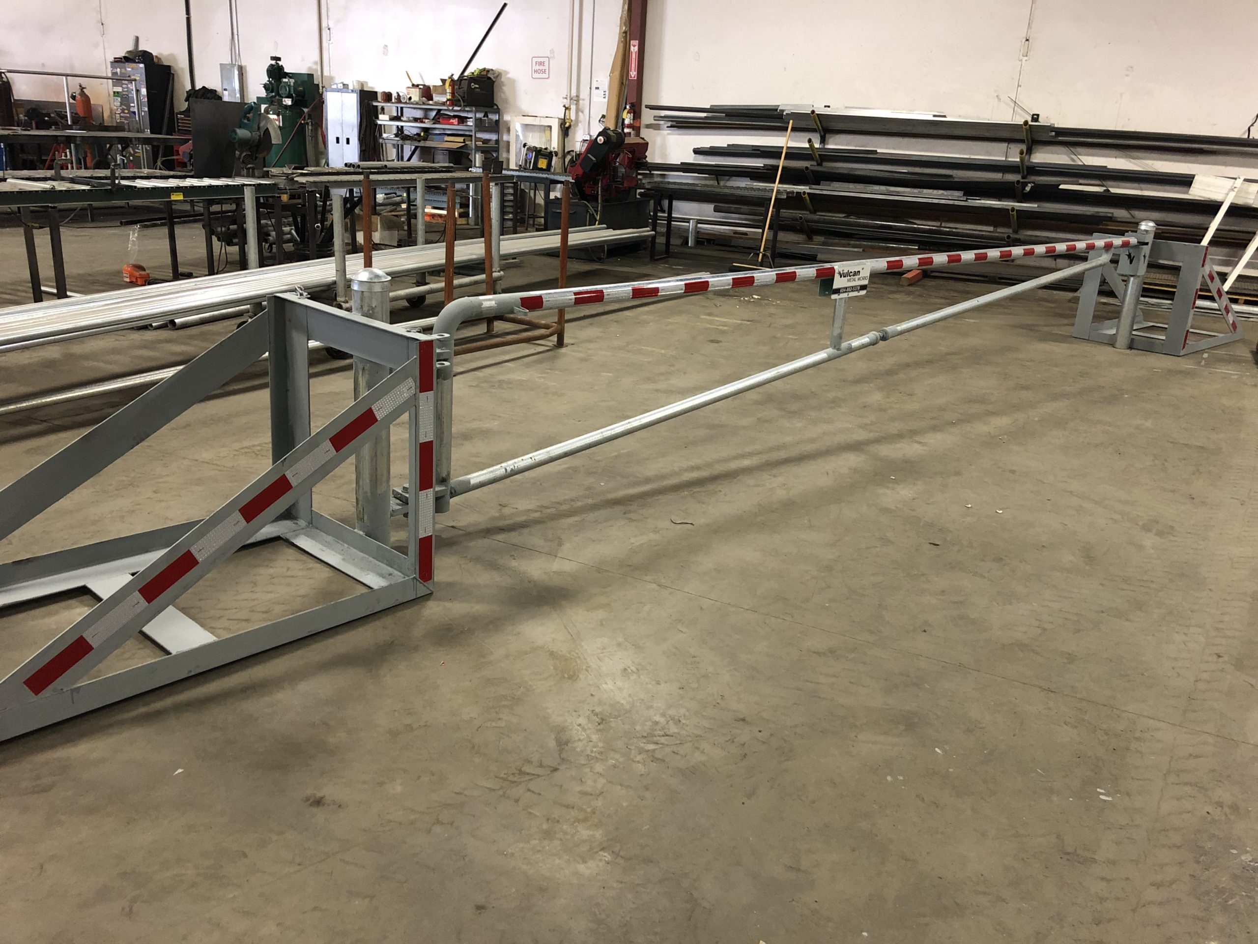 Heavy Duty Barrier Gate from Vulcan Metal Works