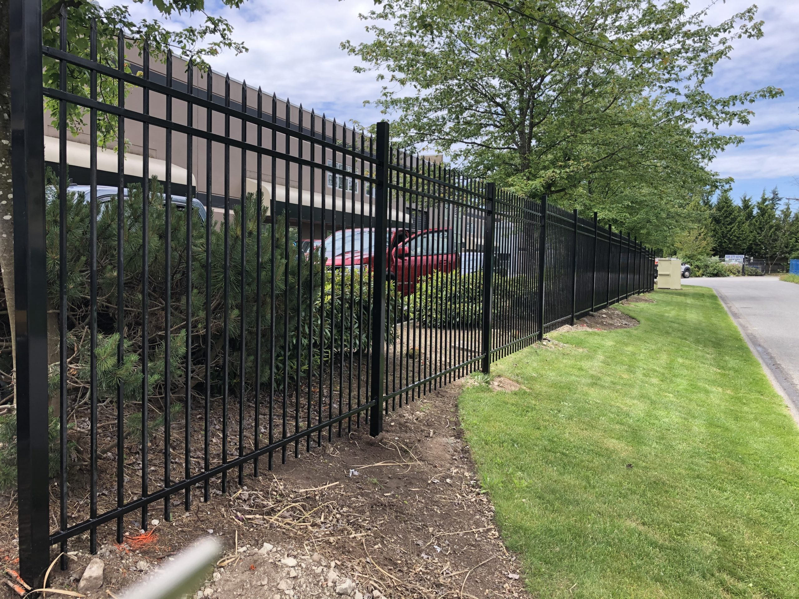 Fortress Fencing Ornamental Fence from Vulcan Metalworks